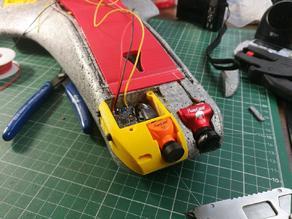 Runcam Split Mini 2 mount for Ritewing Mini Drak