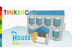 House 4_ Level 2 with Tinkercad