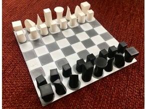 Ultra-Simple Chess Set