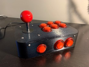 Arcade Controller - M3 Variation for larger buttons