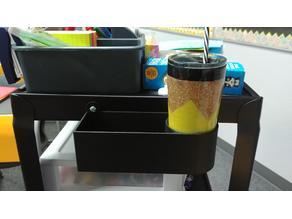 Teacher Cart Cup Holder