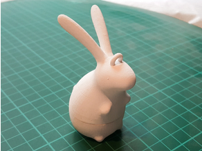 Rabbit Decoration (treat holder)