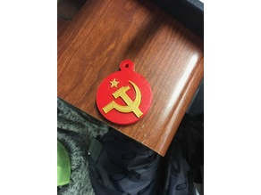 communist ornament