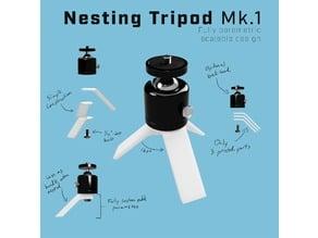 Parametric Nesting Tripod