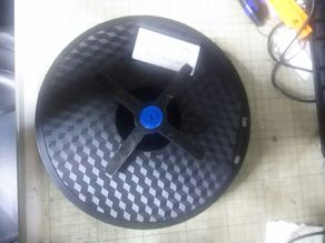 Filament spool horizontal mounting turntable, 6 mm BB bullet specification.