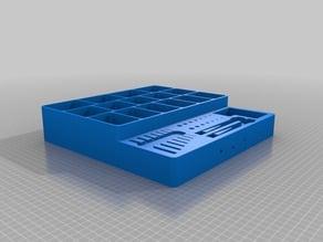 Screw-Allen Key Multipurpose Tool Box