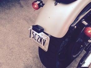 Sportster License Plate bracket