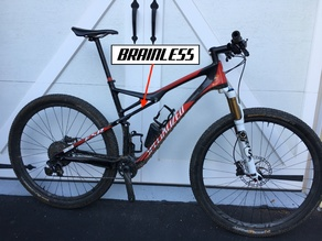 """Brainless"" shock blank for Specialized Epic"