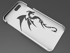 iPhone 6 Basic Case tribal dragon