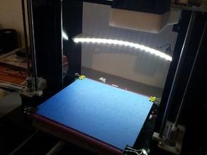 LED Strip Mount for Mendel90