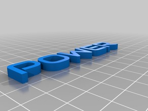 My Customized 3D name plate