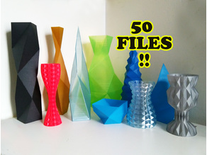Vasemania: Low poly vases