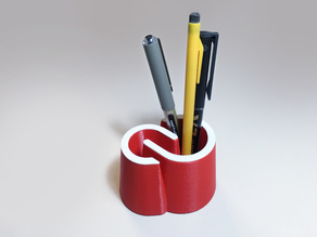 Creative Cloud pencil pot
