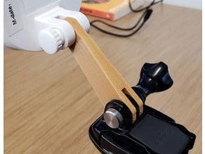 Foscam GoPro adapter