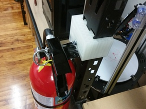 Standard Fire Extinguisher Bracket to Standard Shelf Coupling