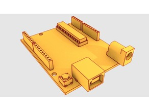 Spareparts: 3d models of various random electronic and mechanical components for OpenSCAD