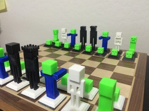 Chess Set Base And Crown