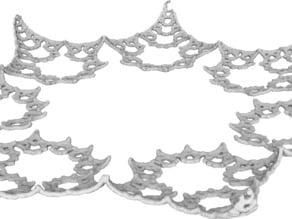 Fractal Star Plate