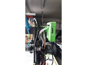 Support mount for Full Graphics LCD P3Steel