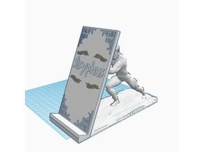 Sisyphus phone holder