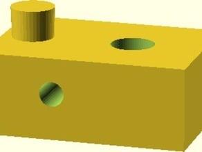 K8200 - Limitscrew Mountingblock
