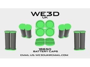 18650 - Battery Caps