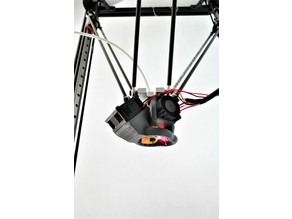 Kossel Pro - improved cooling - 40x40 axial fan