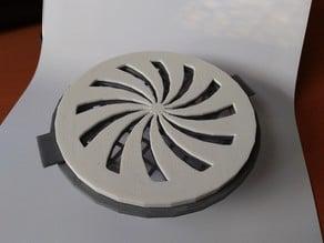 Adjustable Ventilation Grille (10cm pipe)