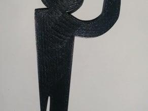 Stickman hangers