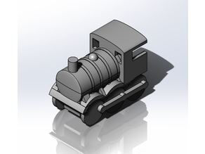 3D printable Train