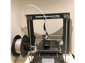 Reverse Bowden Setup for Wanhao Duplicator i3 and clones.