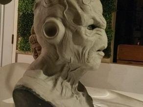 Majin buu DBZ interpretation sculpt bust
