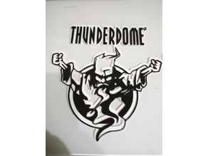 Thunderdome logo and text