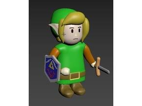 New Link figure - Legend of Zelda: Link's Awakening