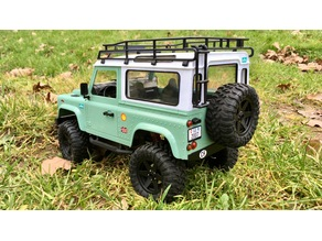 MN Model D90 1/12 Land Rover Defender Parts