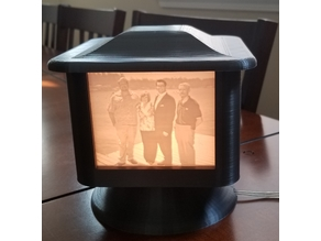 Another Lithophane Lamp