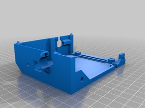 Remix of the mini-rambo case for a Prusa MK2