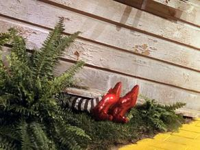 Bookmark - Dead Wicked Witch of the East from Oz story