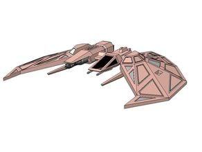 WC - Kilrathi Dralthi MK4 Medium Fighter