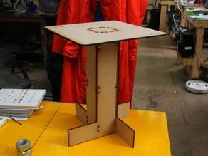 Laser Cut End Table - WENT