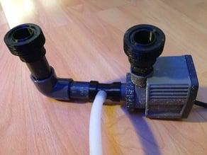DIY skimmer fittings