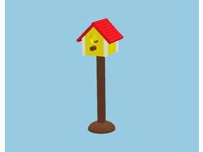 Birdhouse compatible with Playmobil or Sylvanian families