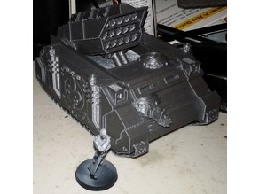 Sisters of Battle Exorcism Artillery Chassis