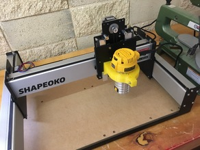 Shapeoko 3 DeWalt Spindle mount