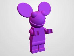 LEGO head! deadmau5