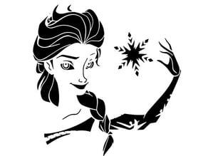 Elsa stencil