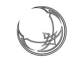 Celtic Moon Coaster