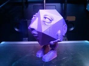 Santiano, AKA 'the icosahedron man'