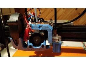 SN-04 & PL-08N E3D mount for Isaac Fank's Aluminium Modular X Carriage.