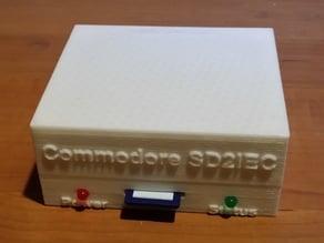 Commodore 64 & 128 SD2IEC Enclosure
